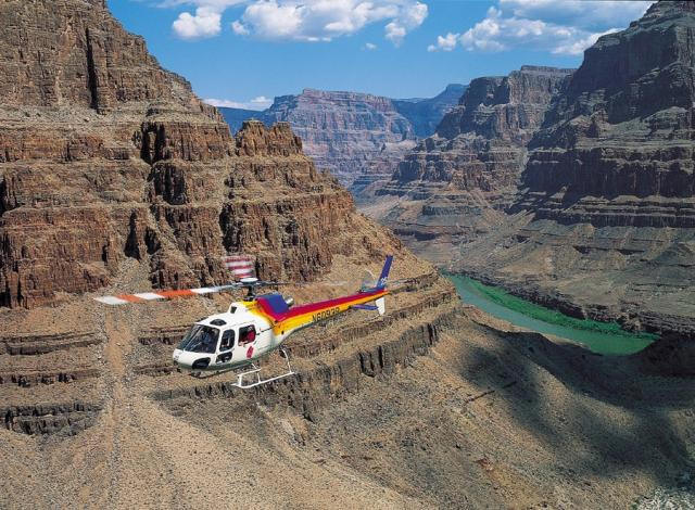 Foto Helikoptervlucht Grand Canyon
