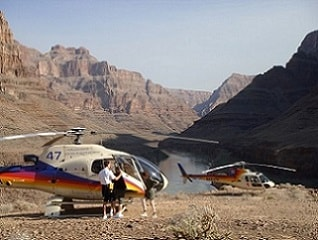 Foto Landing Helicopter Grand Canyon